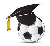 Escola de treinamento do futebol Imagens de Stock Royalty Free