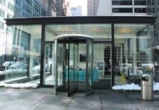 Escola do centro internacional da fotografia na 6a avenida em Manhattan Fotografia de Stock
