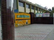 Escola do convento das crianças na Índia de Mohali Punjab do setor 59 imagem de stock
