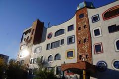 Escola do projeto em Alemanha por Hundertwasser Imagens de Stock