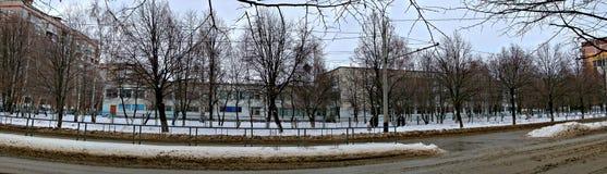 Escola do russo Imagem de Stock Royalty Free