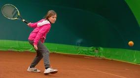 Escola do tênis Fotografia de Stock Royalty Free