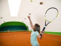 Escola do tênis Fotos de Stock
