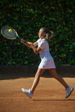 Escola do tênis Imagem de Stock