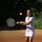 Escola do tênis Fotografia de Stock