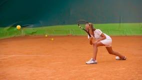 Escola do tênis Fotos de Stock Royalty Free
