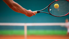 Escola do tênis Imagem de Stock Royalty Free