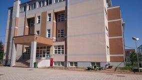 Escola e dormitório Imagens de Stock
