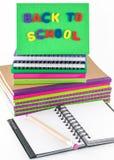 Escola e materiais de escritório Imagem de Stock Royalty Free
