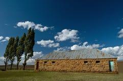 Escola em África fotos de stock