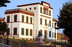 Escola italiana velha fotografia de stock