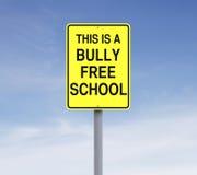 Escola livre da intimidação Fotografia de Stock Royalty Free