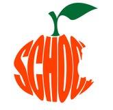 Escola preliminar do logotipo ilustração stock