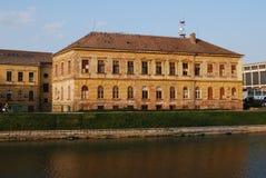Escola primária Zrenjanin (Serbia) imagens de stock