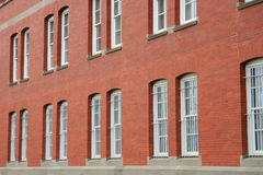 Escola urbana Fotografia de Stock Royalty Free