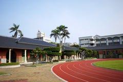 Escolas primárias da construção histórica Imagens de Stock