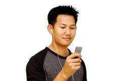 Escolha canções imagem de stock royalty free
