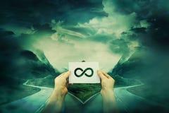 A escolha da infinidade Imagem de Stock Royalty Free