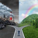 Escolha do clima Foto de Stock