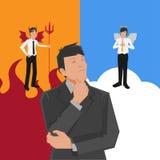 Escolha do trabalhador Ilustração Stock
