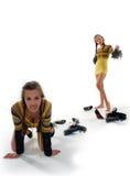 Escolha dos calçados Imagem de Stock Royalty Free