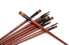 Escolha a escova para pintar Foto de Stock