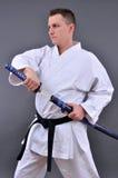 Escolha a espada japonesa afiada fotos de stock royalty free