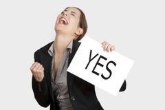 Escolha feliz Fotografia de Stock Royalty Free