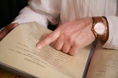 Escolha no menu   imagens de stock royalty free