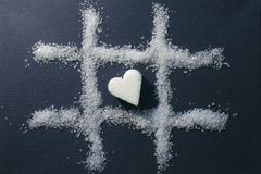 Escolha o coração Imagem de Stock