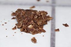 Escolha o nenhum cozem a cookie com partes desarrumado dos Crumbles fotos de stock