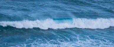 Escolha a onda, imagem longa Oceano Victoria, Austrália Imagem de Stock