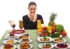 Escolha saudável Fotos de Stock