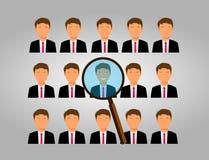 Escolha um empregado Fotografia de Stock