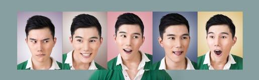 Escolha uma expressão da cara imagens de stock royalty free