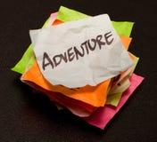 Escolhas da vida - aventura Imagens de Stock Royalty Free