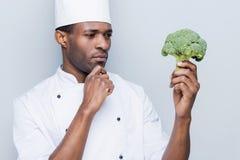 Escolhendo o melhor ingrediente para sua refeição Fotos de Stock