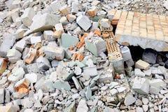 Escombros imagen de archivo libre de regalías