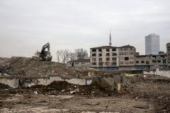 escombros Foto de archivo