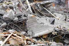 Escombros Imagenes de archivo