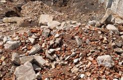 Escombros de la fábrica Fotos de archivo libres de regalías