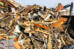 Escombros del edificio imagen de archivo libre de regalías