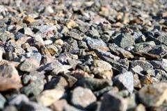 Escombros dispersados en la tierra Foto de archivo libre de regalías