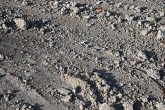 Escombros en la tierra Fotos de archivo libres de regalías