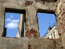 Escombros en oldtown Fotos de archivo libres de regalías