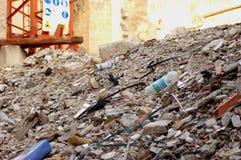 Escombros y suciedades fotografía de archivo libre de regalías