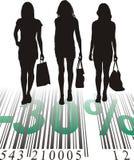 Escompte d'achats, trente pour cent Illustration de Vecteur