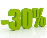 escompte de 30%
