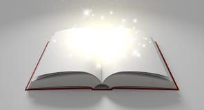 Esconda el libro mágico paginado stock de ilustración