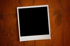 Esconda el papel de la foto Foto de archivo